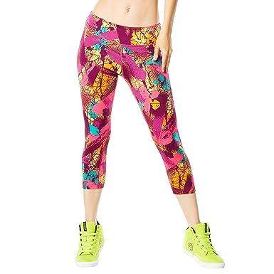 Zumba Fitness® So Samba Capri Leggings Pantalón, Mujer