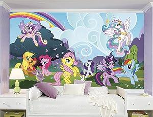 RoomMates My Little Pony PonyvilleRemovable Wall Mural - 10.5 feet X 6 feet