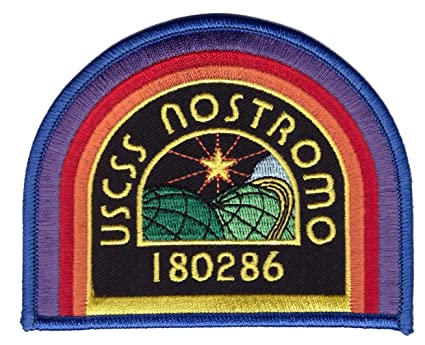 d35fdf0e3 Amazon.com: Black USCSS Nostromo Crew Cap Shoulder Costume Prop ...