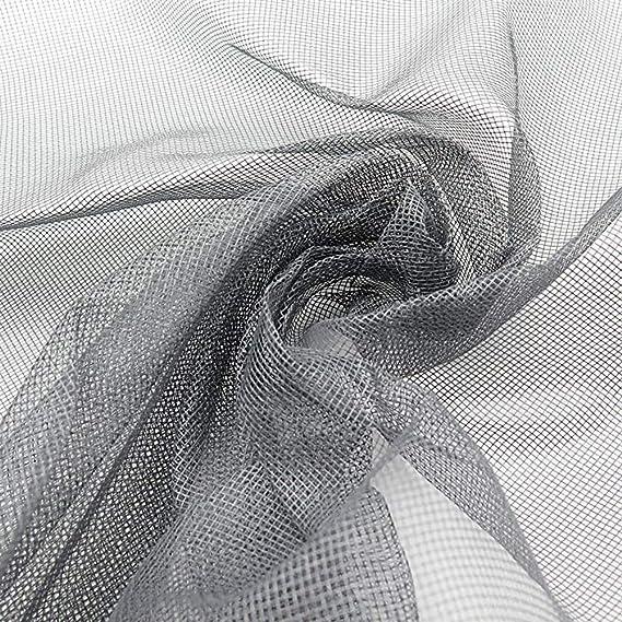 ZXL Malla de Pantalla de Ventana Mosquitera de Ventana Protector de Pantalla de Malla de mosquitera Gris 60x Mosquitera Anti Mosquitos Insecto Mosquitera Cortina de Malla de Malla de Ventana