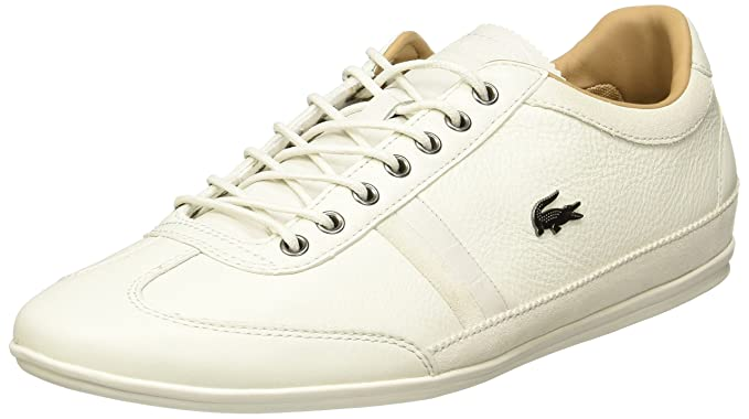 Lacoste Misano Baskets Basses Offwhite Homme Baskets