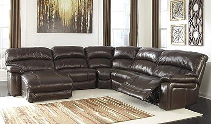 Amazon.com: Damacio U98200-79-46-77-19-62 5-Piece Sectional Sofa ...