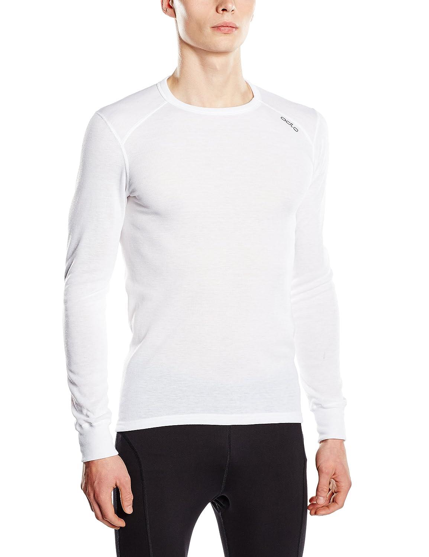Odlo Herren Shirt Long Sleeve Crew Neck Warm