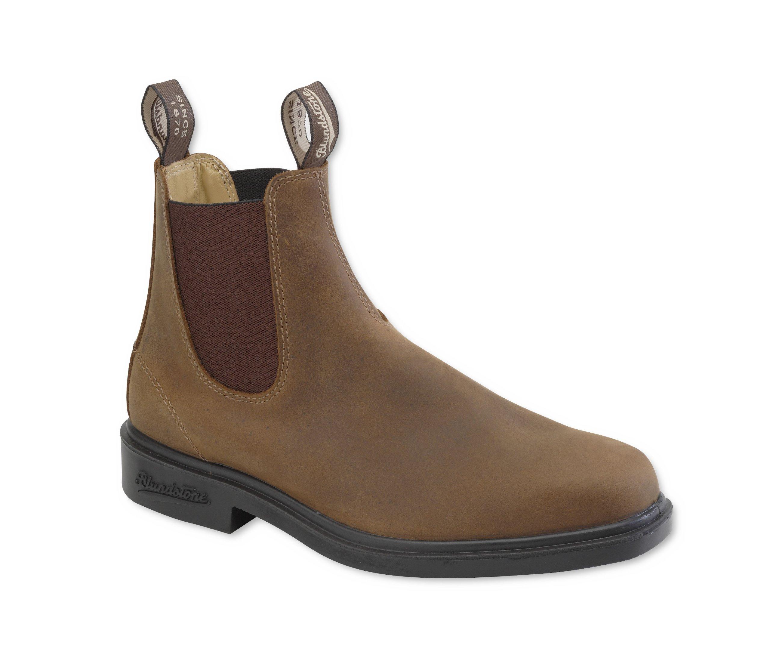 Blundstone Dress Series Boot,Brown Crazy Horse,AU 5 M