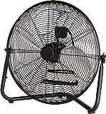 "PMX 20"" High Velocity Floor Fan, Metal, black (black)"