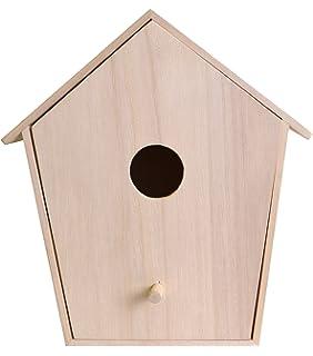 Casetta Per Uccelli In Legno Design 4 Dimensioni 145 X 11 X 95