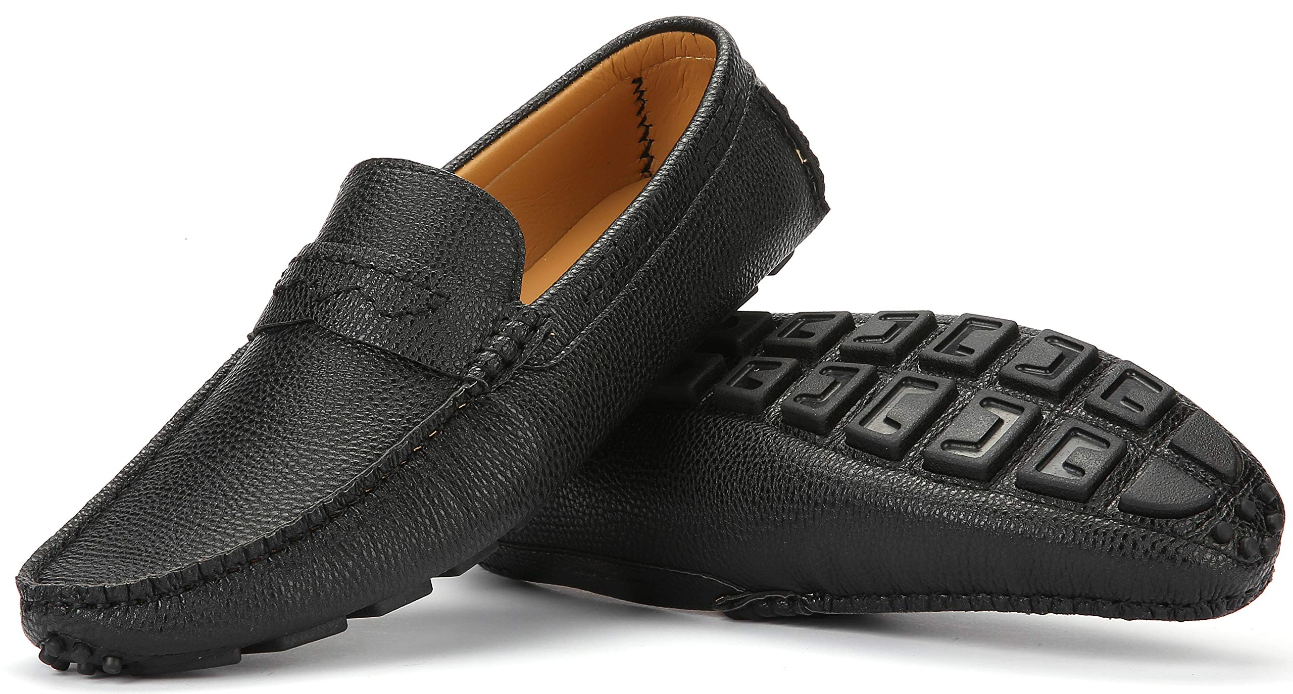 Mio Marino Mens Loafers – Dress Casual Loafers for Men – Slip-on Driving Shoes – in Gift Shoe Bag