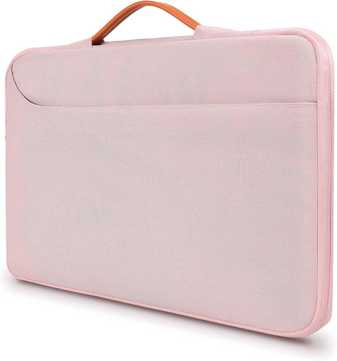 Laptop Case for Women, 12-13.5 inch Laptop Briefcase Spill-Resistant Computer Bag for DELL XPS 13 9310, Surface Laptop 13.5, 12-13.5
