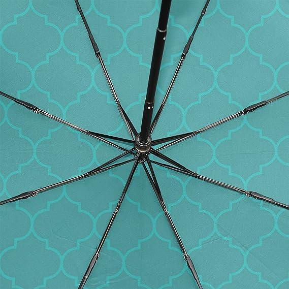 Amazon.com: GUKENZ Paraguas de viaje marroquí acuático de ...