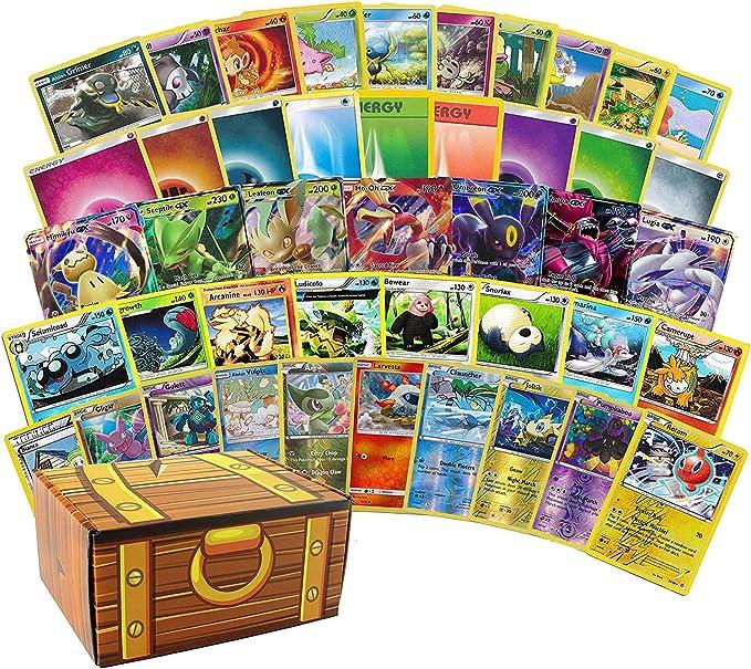 GX   W// Rares and Holos Guaranteed EX 100/% Authentic TCG 200 Pokemon Cards