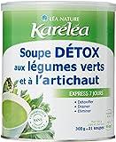 Karéléa Soupe Détox aux Légumes Verts et à l'Artichaut 300 g