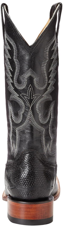 Ferrini Men's Teju Lizard S-Toe Western Boot B00B9H9QH6 9 EE US|Black