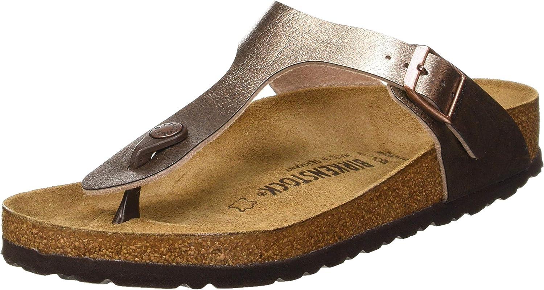 Birkenstock Women's Flip Flop Sandals Mule, Graceful Taupe, 7.5 US