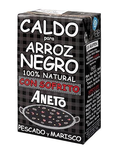Aneto Caldo Para Arroz Negro Con Sofrito De Pescado Y Marisco - 1000 ml