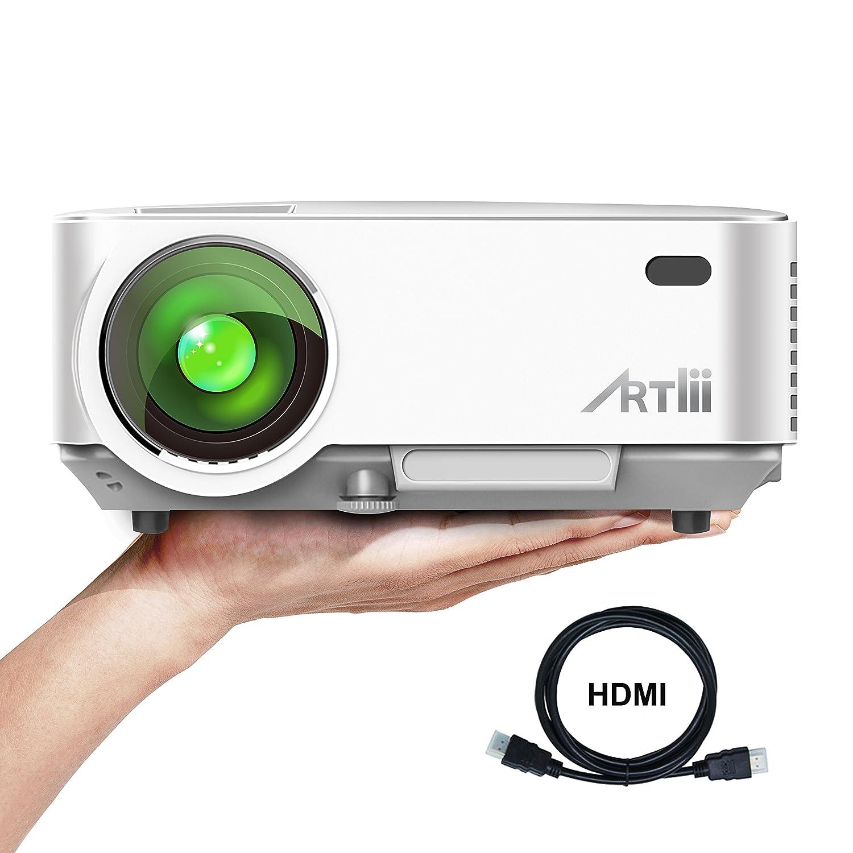 Proyectores Artlii Mini Proyector Portatil HD p Lúmenes Protección de Los Ojos
