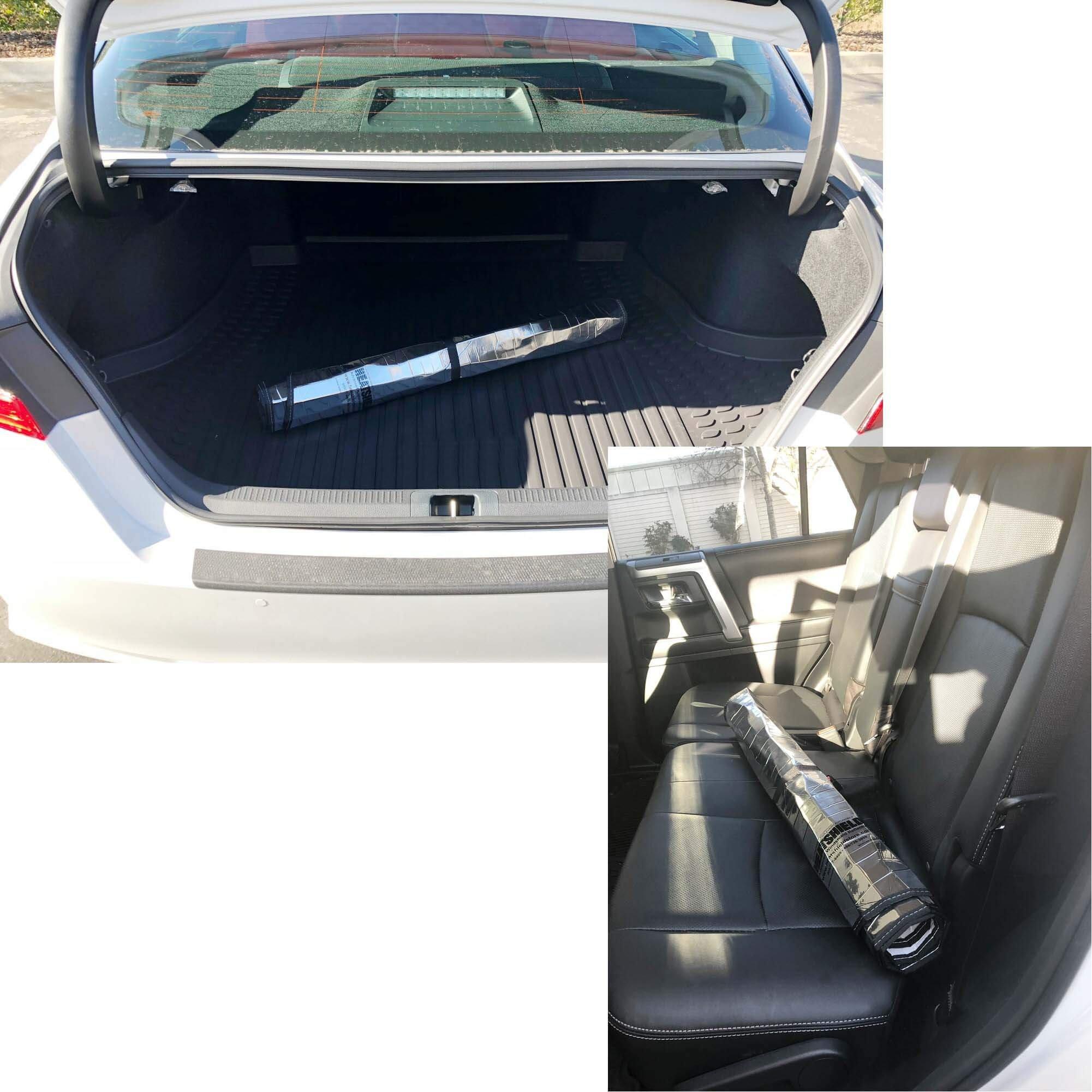 HeatShield The Original Auto Sunshade, Custom-Fit for Honda Civic Sedan 2012, 2013, 2014, 2015, Silver Series by HeatShield (Image #4)