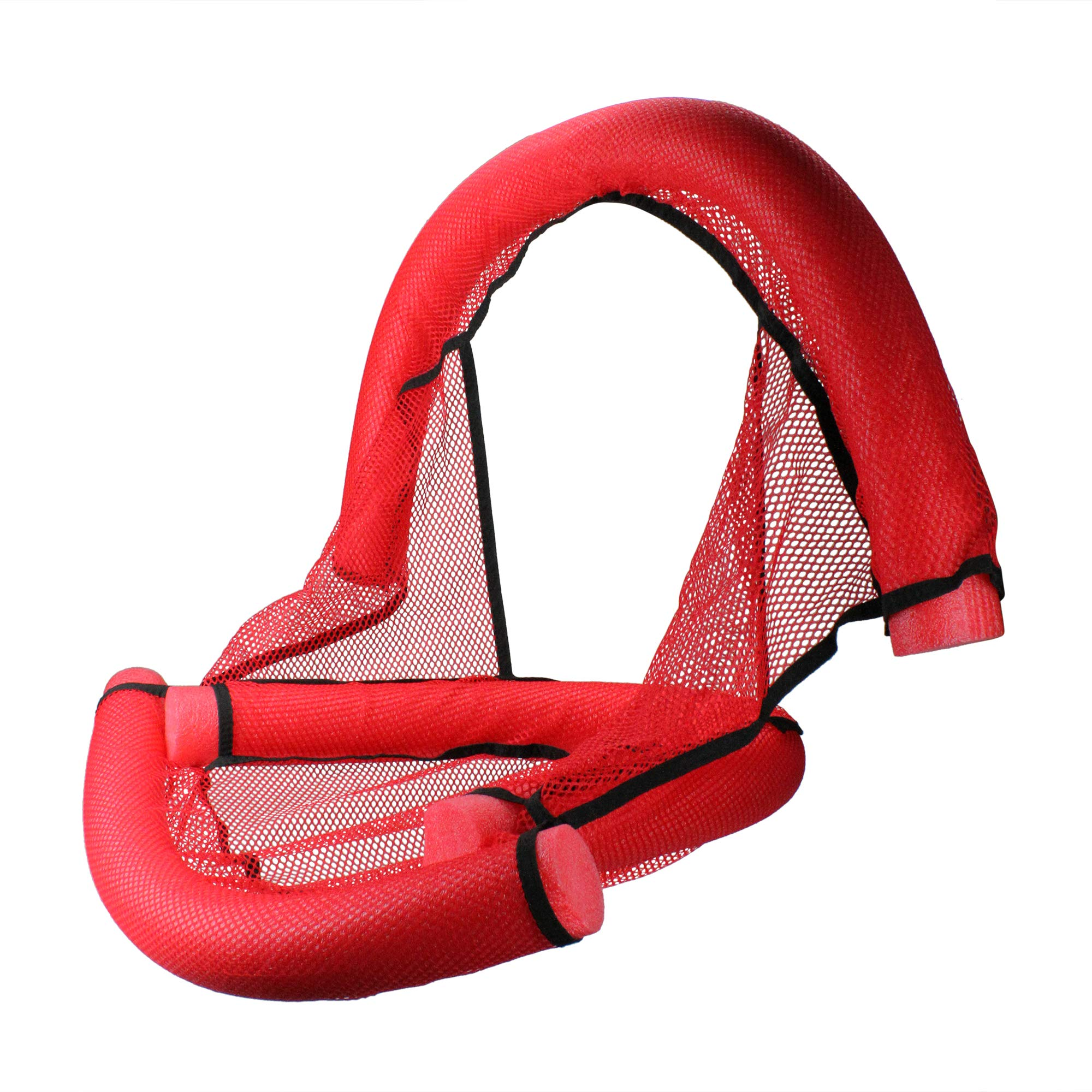 30'' Red Water Sports Foam Noodle Fun Seat for Swimming Pool