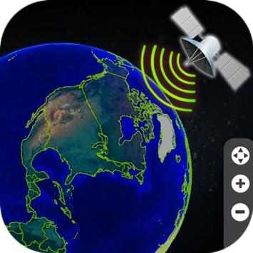 Amazon Com Earth Map Live Gps Voice Navigation Street View