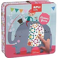 APLI Kids - Caja metálica con juego