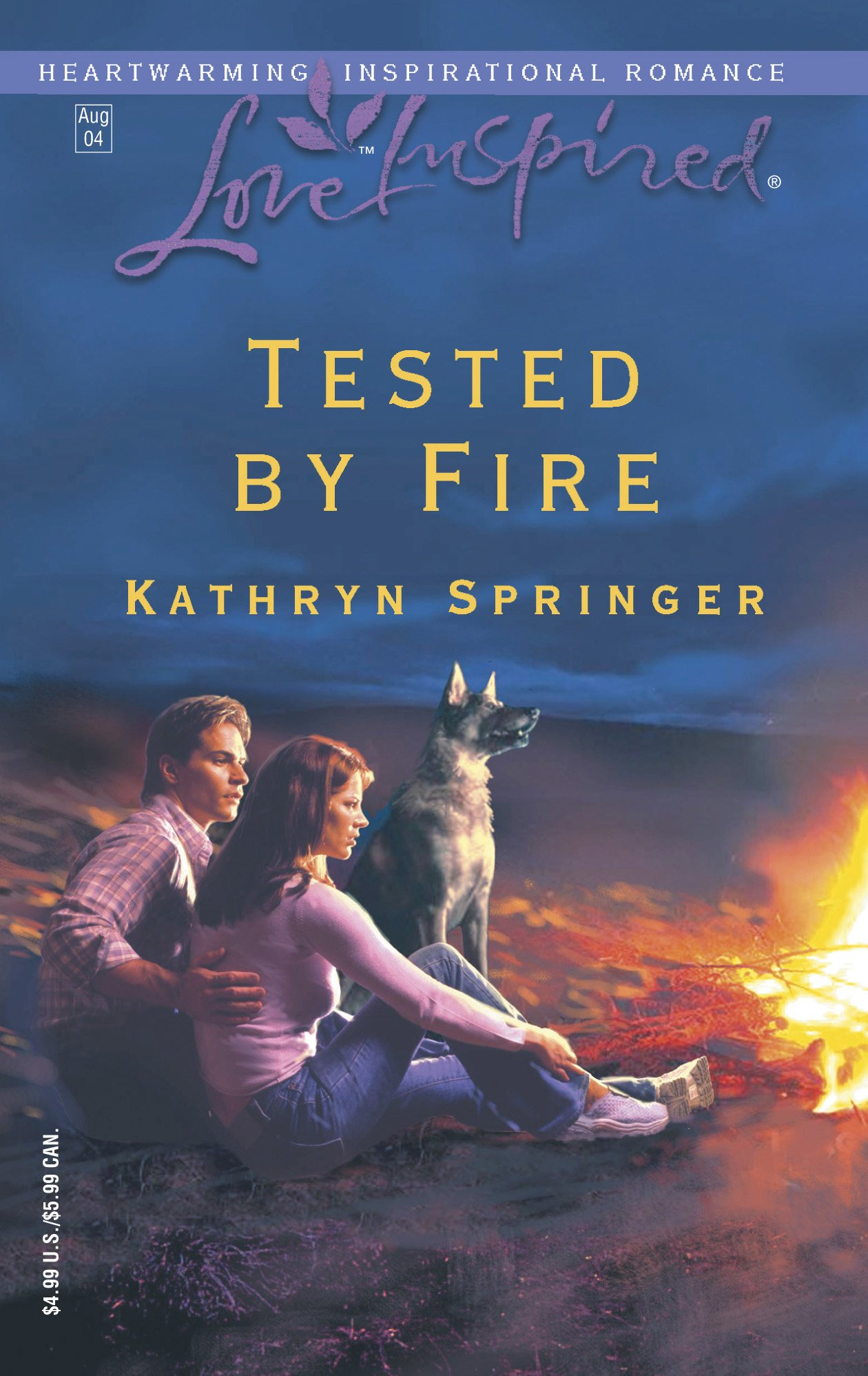 Download Tested by Fire (Love Inspired #266) pdf