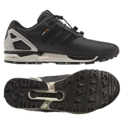 new product 0562a 38f13 ... Adidas Originals ZX Flux 8000 Winter B35535 Black Brown CORDURA Woven  Men s Shoes (size ...