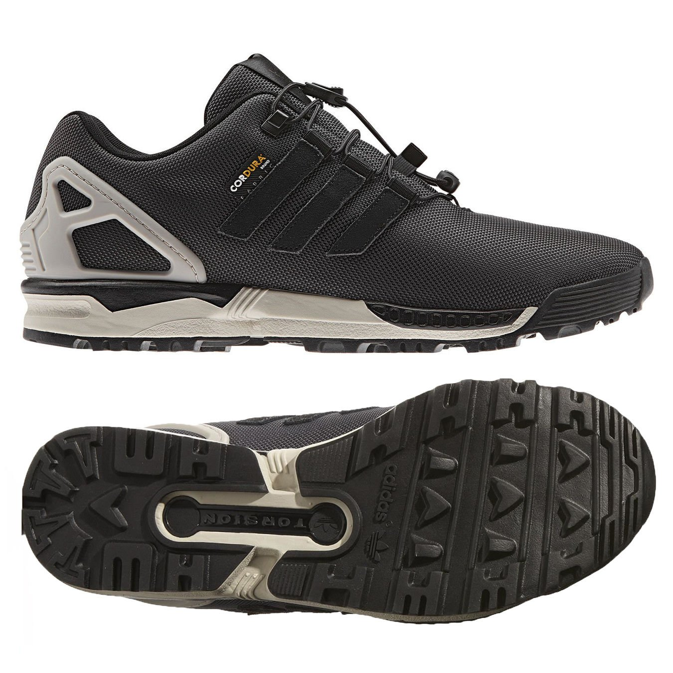 new products cb965 63a09 Galleon - Adidas Originals ZX Flux 8000 Winter B35535 Black ...