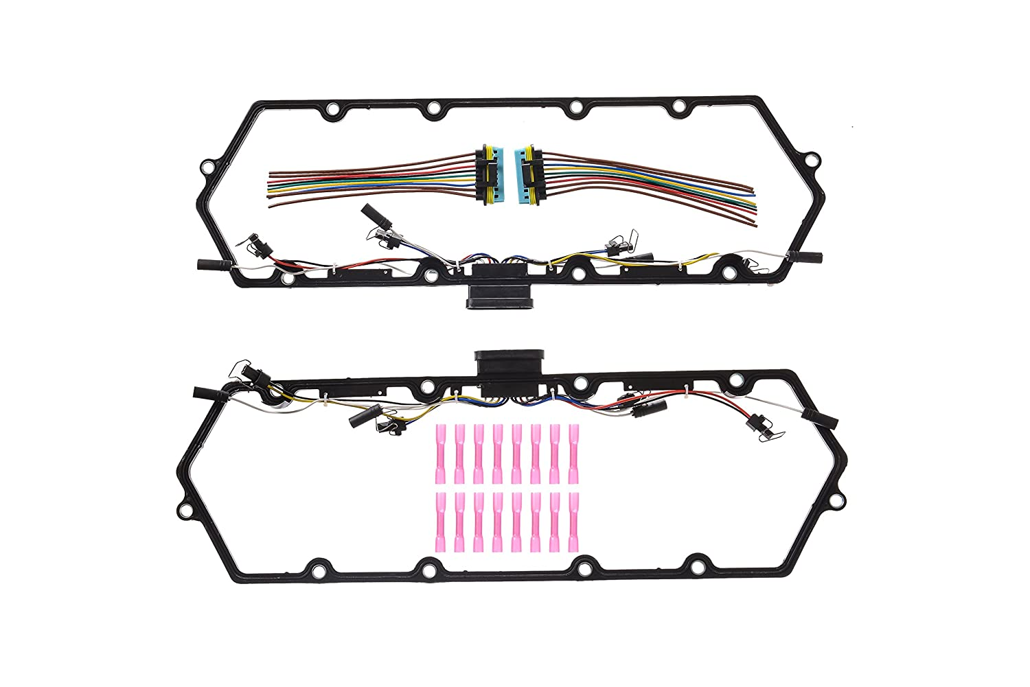 Ford 1997 2003 73lpower Stroke Valve Cover Gasket Kit With Fuel 7 3 Glow Plug Wiring Harness Injector