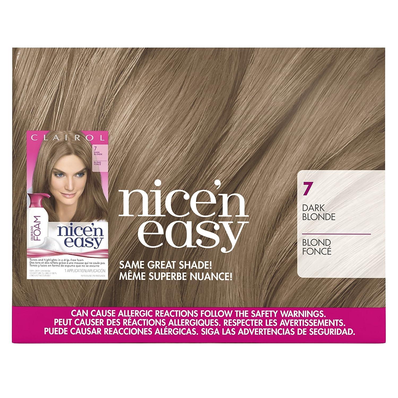Clairol Nice Easy Cb 7 Dark Blonde Size Kit Amazon Health