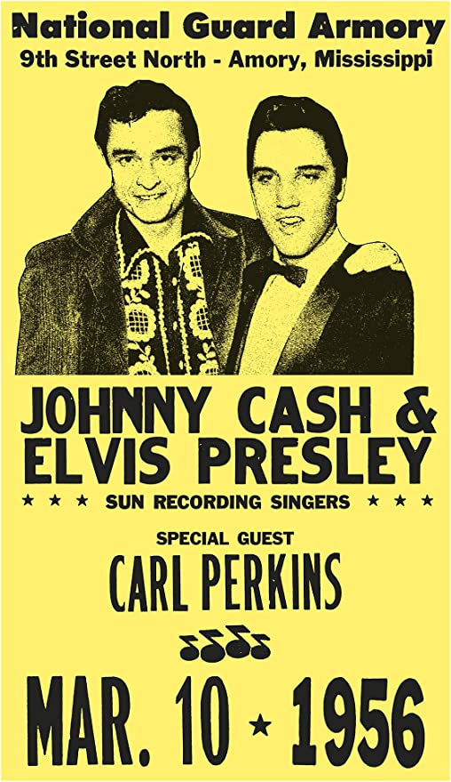 "Johnny Cash Show Poster Replica 13 x 19/"" Photo Print"