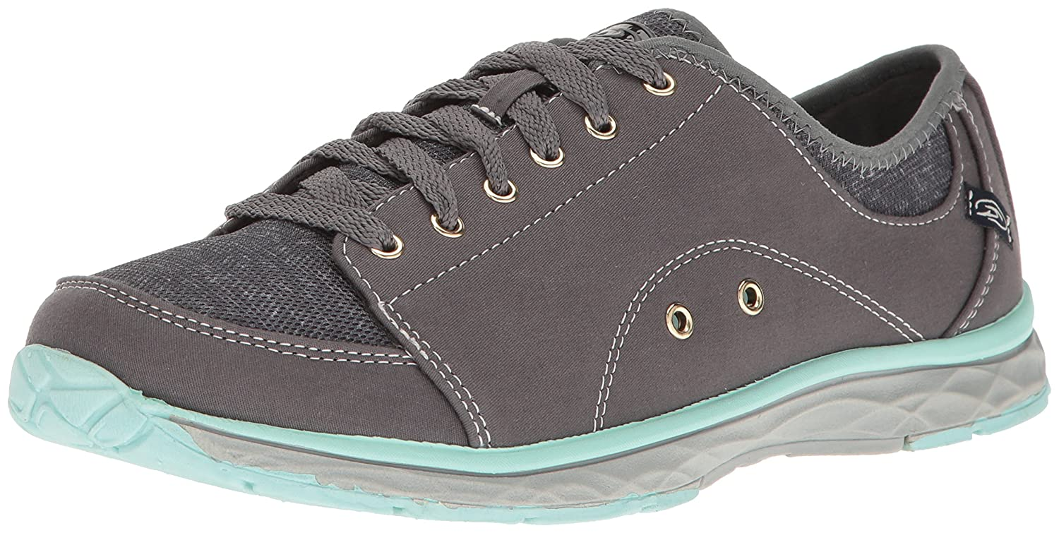 Dr. Scholl's Women's Anna Fashion Sneaker B01N19I1LZ 8 B(M) US|Grey Twill/Fabric