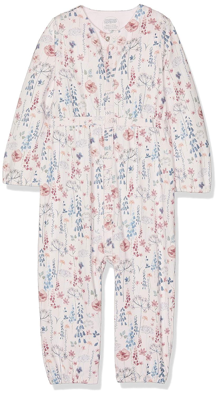 Mamas /& Papas Baby-M/ädchen Floral Waist Romper Spieler