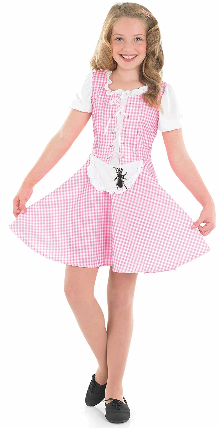 sc 1 st  Amazon.com & Amazon.com: Medium Pink Girls Miss Muffet Costume: Toys u0026 Games