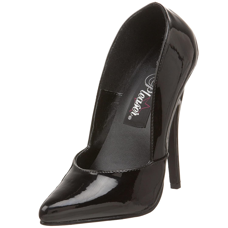 Pleaser DOMINA-423 - Zapatos para mujer 43 EU|Negro