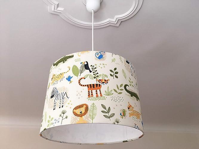 Lampenschirm Kinderzimmer Tiere, Deko Kinderzimmer, Kinderlampe ...