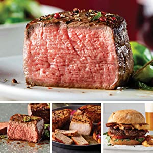 Omaha Steaks Christmas Gifts for Dad Deal (24-Piece with Top Sirloins, Filet Mignons, Pork Chops, and Steak Burgers)