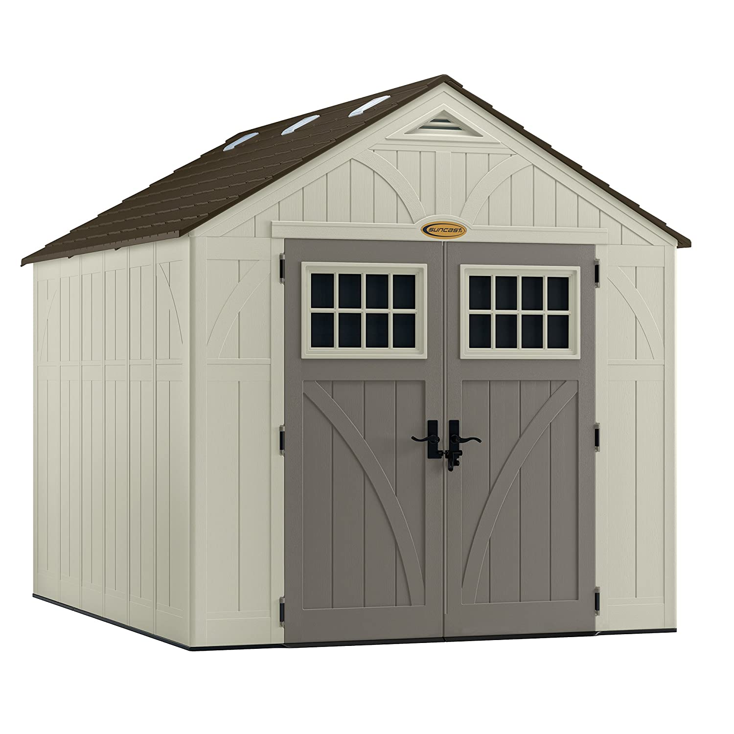 Amazon Suncast BMS8100 Tremont 8 x 10 Storage Shed