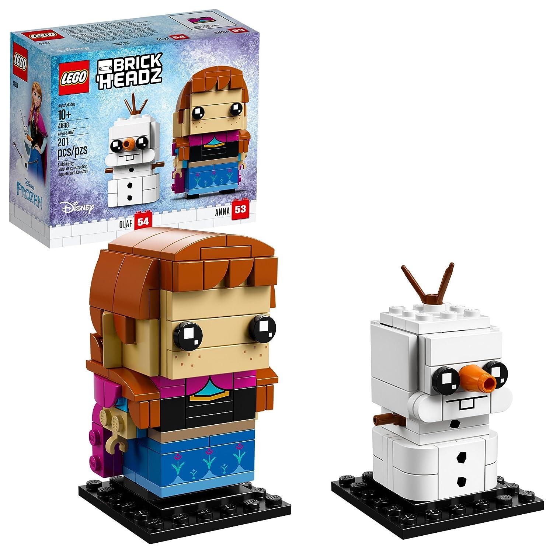 Lego BrickHeadz 6225313 Anna & Olaf Building Kit (201 Piece), Multicolor