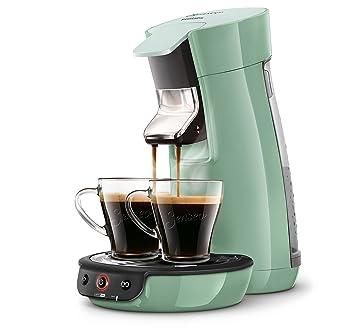 Senseo Viva Café HD7829/11 - Cafetera (Independiente, Máquina de café en cápsulas, 0,9 L, Dosis de café, 1450 W, Verde): Amazon.es: Hogar