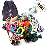 Dog Chew Toys Rope Pet Toy with ball For Small to Medium Dogs