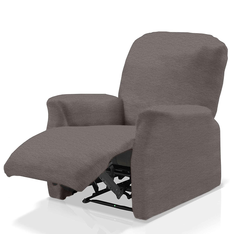 07 Standard Couleur JM Textil Housse /Élastique Fauteuil Relax Compl/ète Adam