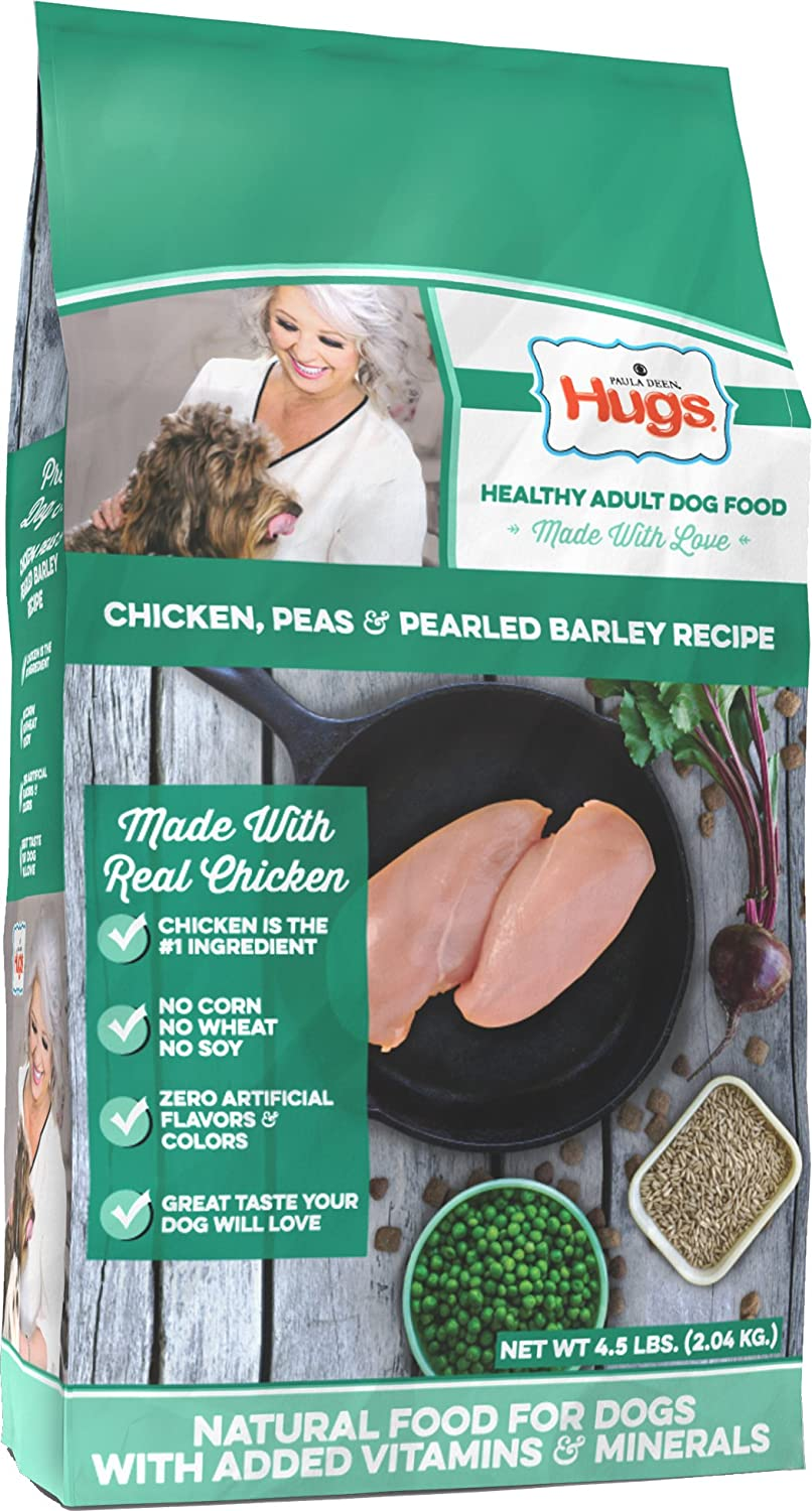 Amazon.com : Paula Deen by Hugs Premium Select Dog Food, Chicken and ...