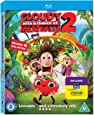 Cloudy with a Chance of Meatballs 2: Revenge of the Leftovers [Blu-ray 3D + Blu-ray] [2013] [Region A & B & C]