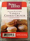 1 X Better Homes and Gardens Vanilla Cookie Crunch Wax Cubes