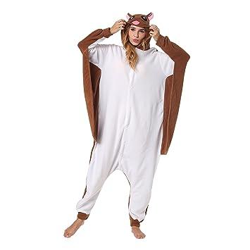 Katara 1744 - Kigurumi Pijamas Disfraz de Animal - Traje de Noche con Capucha - Adultos