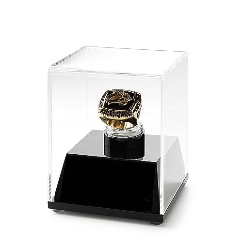 0a0246351eee Amazon.com   Championship Ring Display Case Acrylic Ring Box (Black ...