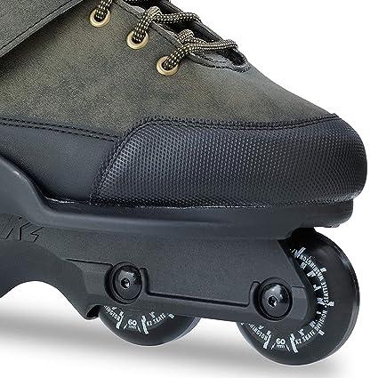 White Black Rollerblade NJ Team Aggressive Inline Skates
