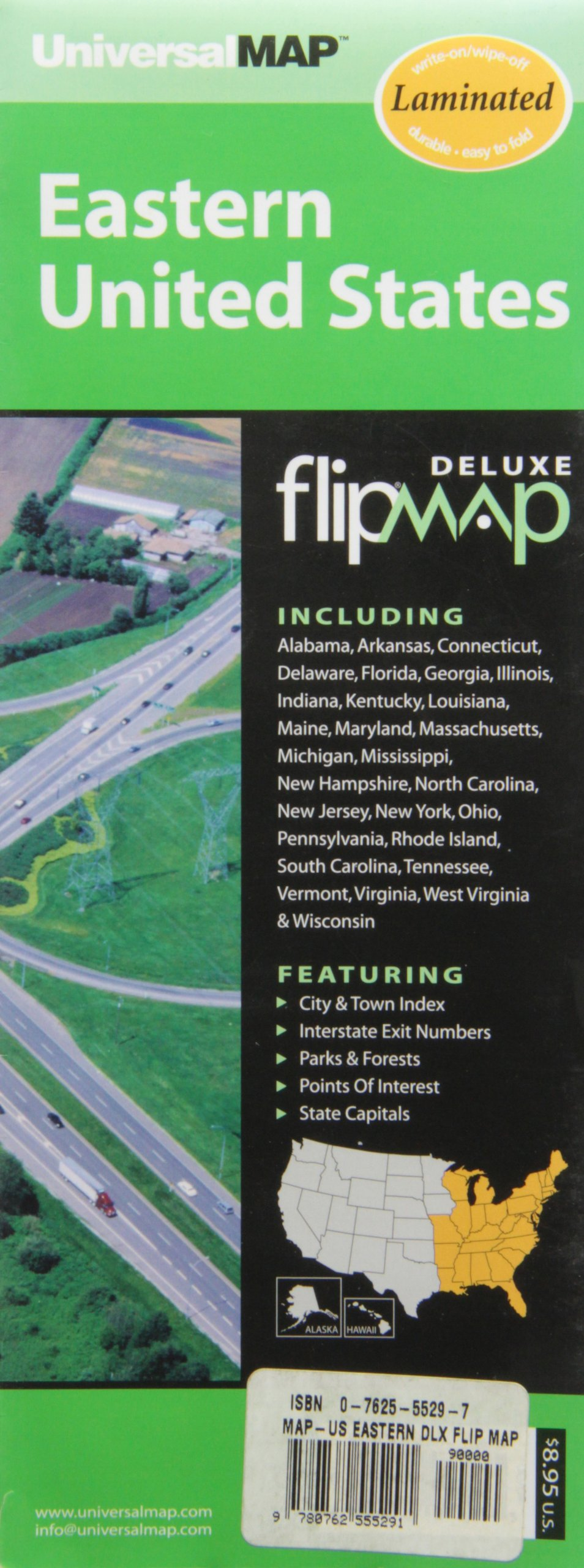 Download Us Eastern Deluxe Flip Map ebook
