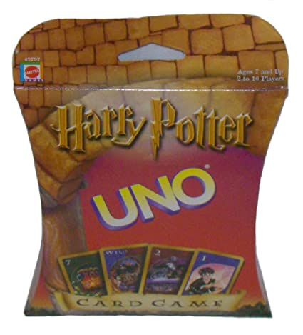 2000 MATTEL Harry Potter UNO Card Game