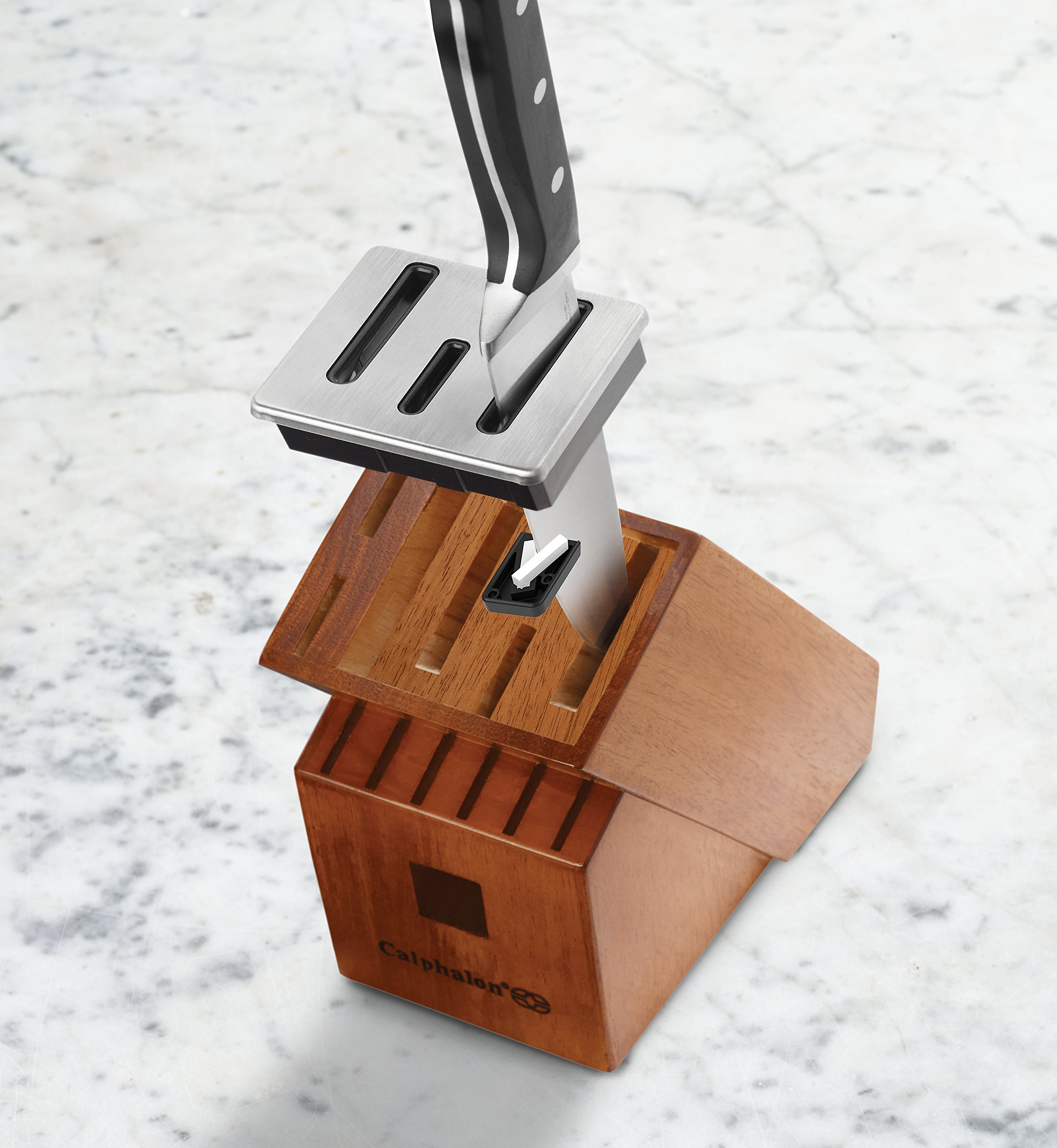 Calphalon Classic Self-Sharpening Cutlery Knife Block Set with SharpIN Technology, 12 Piece by Calphalon (Image #4)