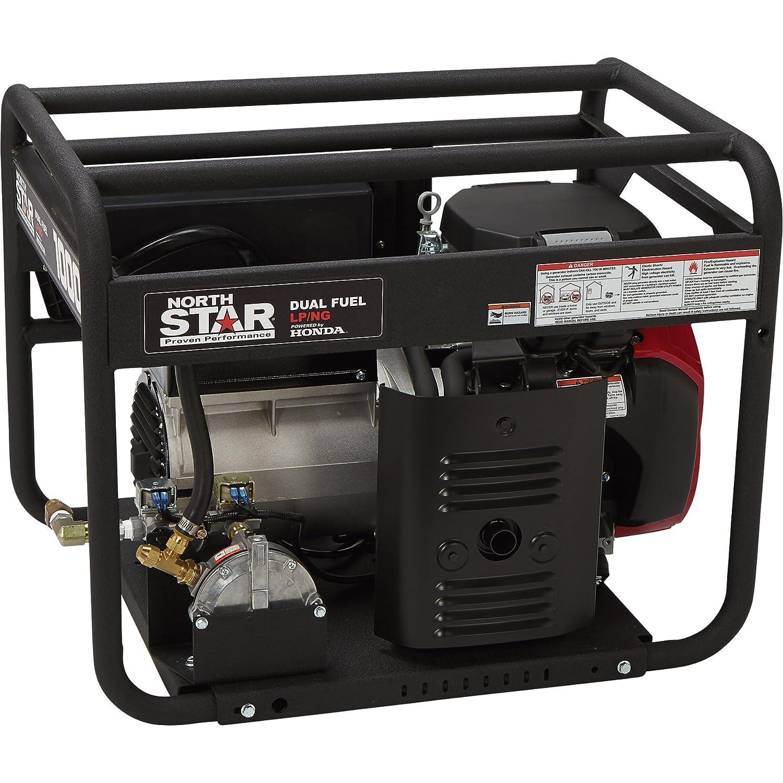 Amazon NorthStar Portable Dual Fuel Generator 10 000 Surge